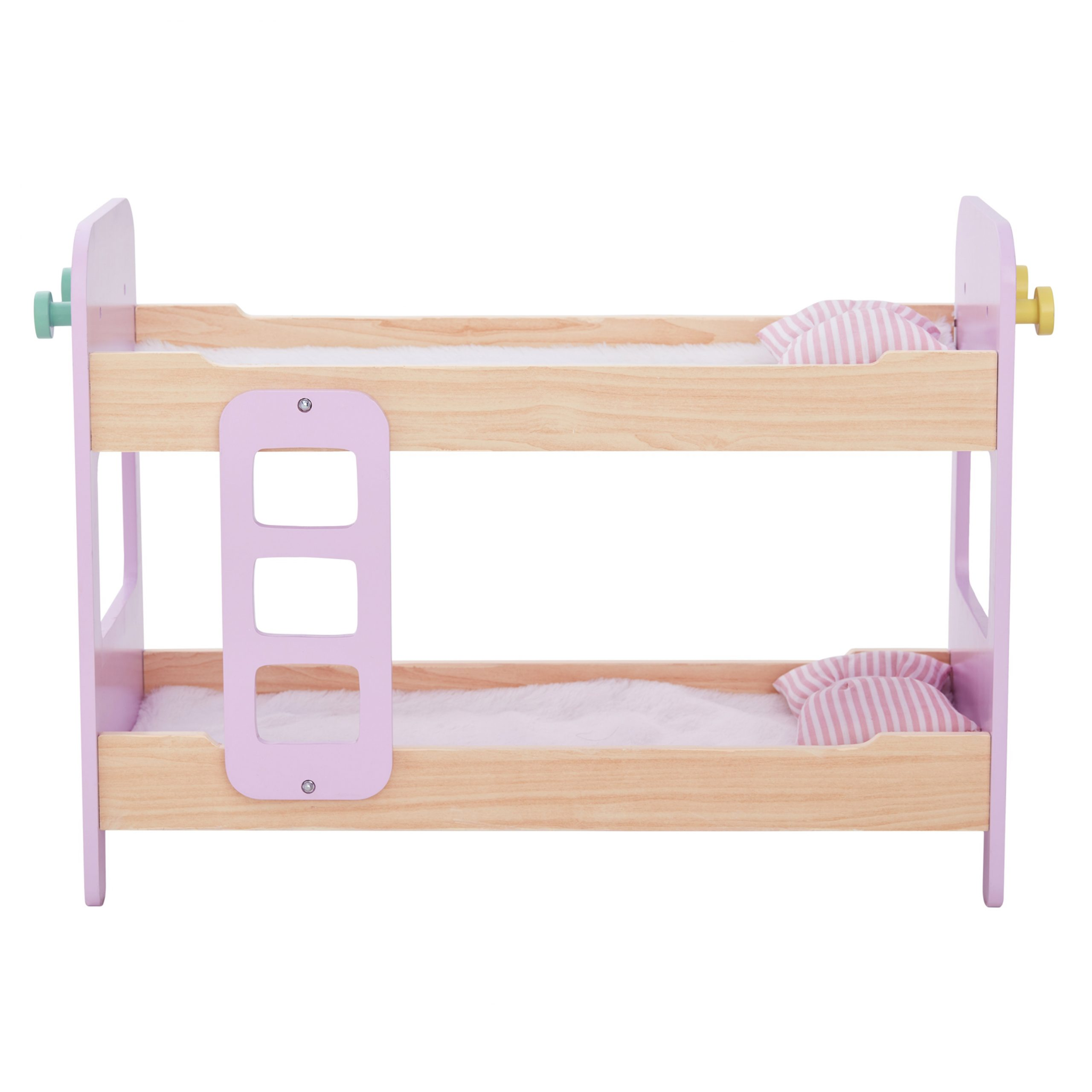 Baby Doll Wooden Double Bunk Bed Bedding Teamson Kids Uk